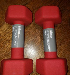 Brand New w/ Tags Pair of 8 lb Hex Dumbbells for Sale in Portland, OR