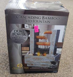 New Cascading Bamboo LED Fountain for Sale in Burlington, NC