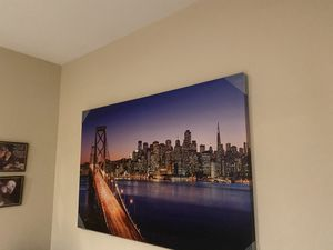Room decor/ wall frame for Sale in Bakersfield, CA