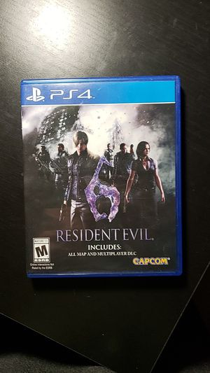 Resident Evil 6 Ps4 (with all dlc) for Sale in Commerce City, CO