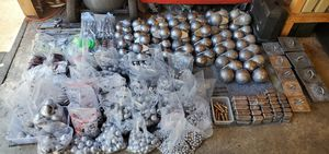Downrigger balls, Drift boat Anchor's, Cannonball fishing weights, Flutter/Pipe jigs, Crab pot weights and more. for Sale in Tacoma, WA