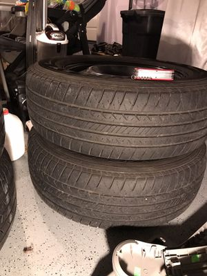 245/65/r17 tires with rims for Sale in Vancouver, WA