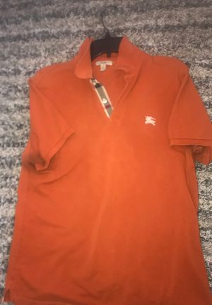 Size Large Burberry Button Up Shirt for Sale in Washington, DC