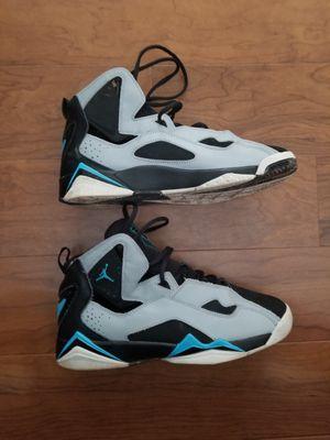 Nike air jordan true flight big kids shoes size 7Y for Sale in Columbia, MD