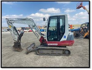 2014 Takeuchi TB235C Mini Excavator for Sale in Wheaton, IL