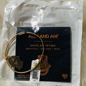 Alex and Ani Hand of Fatima Gold Bangle for Sale in Lanham, MD