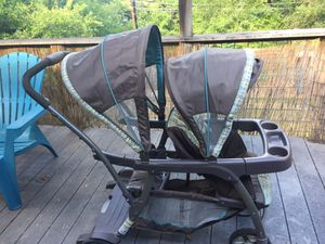 Graco Ready2Grow Stand and Ride Duo Stroller for Sale in Austin, TX