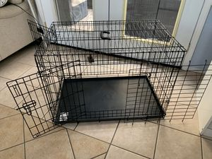 Large Dog Crate used for 1 month for Sale in Winchester, CA