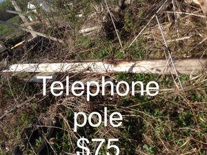 Telephone pole for Sale in Horseheads, NY