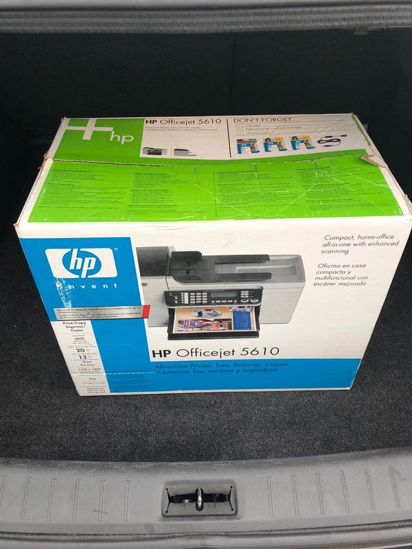 HP Officejet 5610 All-in-One Printer, Fax, Scanner and Copier
