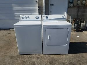 WHIRPOOL WASHER AND KENMORE ELECTRIC DRYER ! for Sale in Kearns, UT