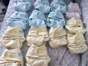 Luludew All in One Newborn Cloth Diapers for Sale in San Diego, CA