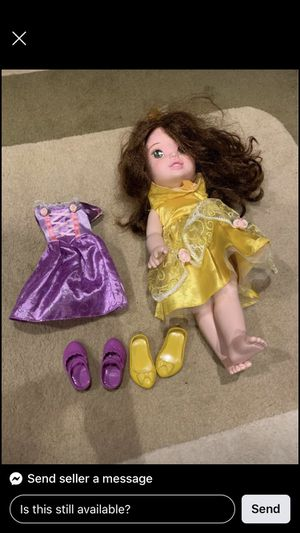 Toddler Belle doll for Sale in Sammamish, WA