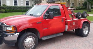2000 Ford F450 Wrecker Tow Truck STOLEN for Sale in Houston, TX
