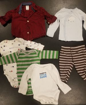 3 months miscellaneous baby clothes lot for Sale in Waddell, AZ