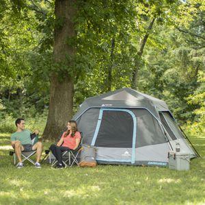 Ozark Trail 6-Person Dark Rest Instant Cabin Tent for Sale in Houston, TX