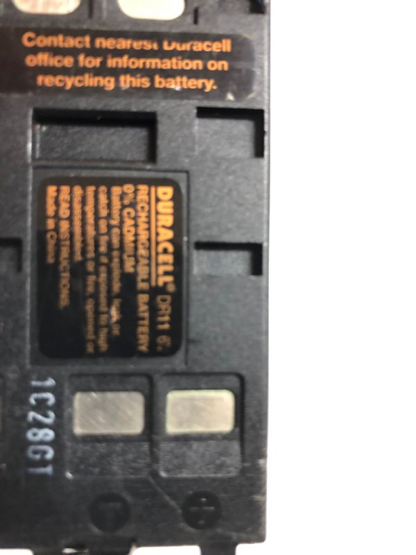 Duracell DR11 camcorder battery