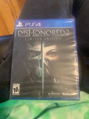 Dishonored 2 Limited Edition (unopened) for Sale in Washington, DC