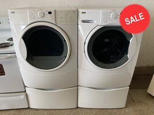 🌟🌟Front Load Washer Electric Dryer Set Kenmore Delivery Available #1436🌟🌟 for Sale in Dundalk, MD