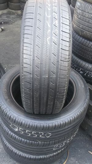 4 used tire Michelin premier 235/55/20 for Sale in Washington, DC