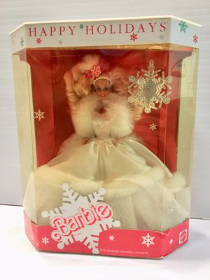 1989 Happy Holidays Barbie - NEW IN BOX for Sale in Palo Alto, CA