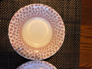 Antique Set of 3 Plates and 3 bowls for Sale in Bristol, PA