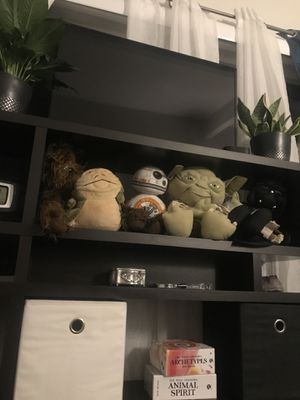 Star Wars plush collectibles toys for Sale in San Diego, CA