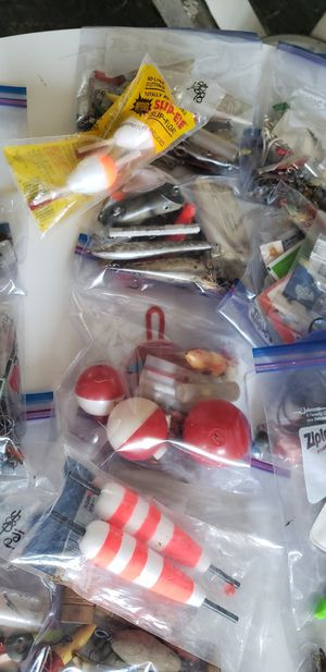 Lots of fishing gear. Lures hooks etc for Sale in East Wenatchee, WA