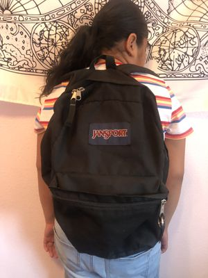 black classic jansport backpack for Sale in Palmdale, CA