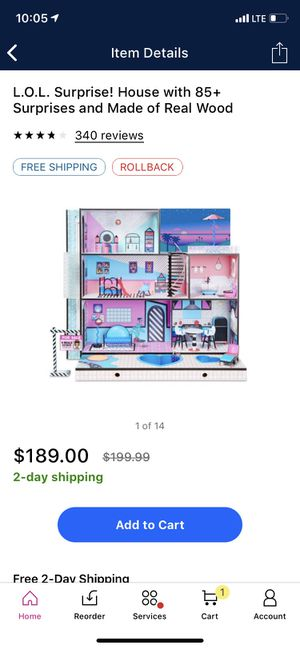 Lol doll house for Sale in Fresno, CA