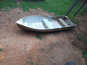 Aluminum boat for Sale in Duluth, GA