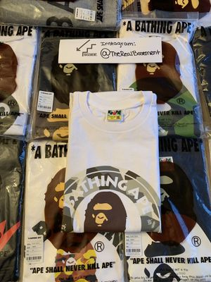 Bape Busy Works T shirt for Sale in Washington, DC