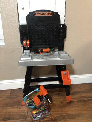 Black & decker tool bench for Sale in Sacramento, CA