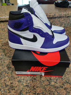 Jordan 1 Court Purple 2.0 - Size 9 for Sale in Renton, WA