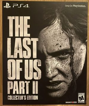 Last of us Part 2 CE PS4 for Sale in Annandale, VA