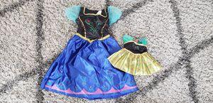 Disney Anna costume size 4-6 for Sale in AURORA, IL