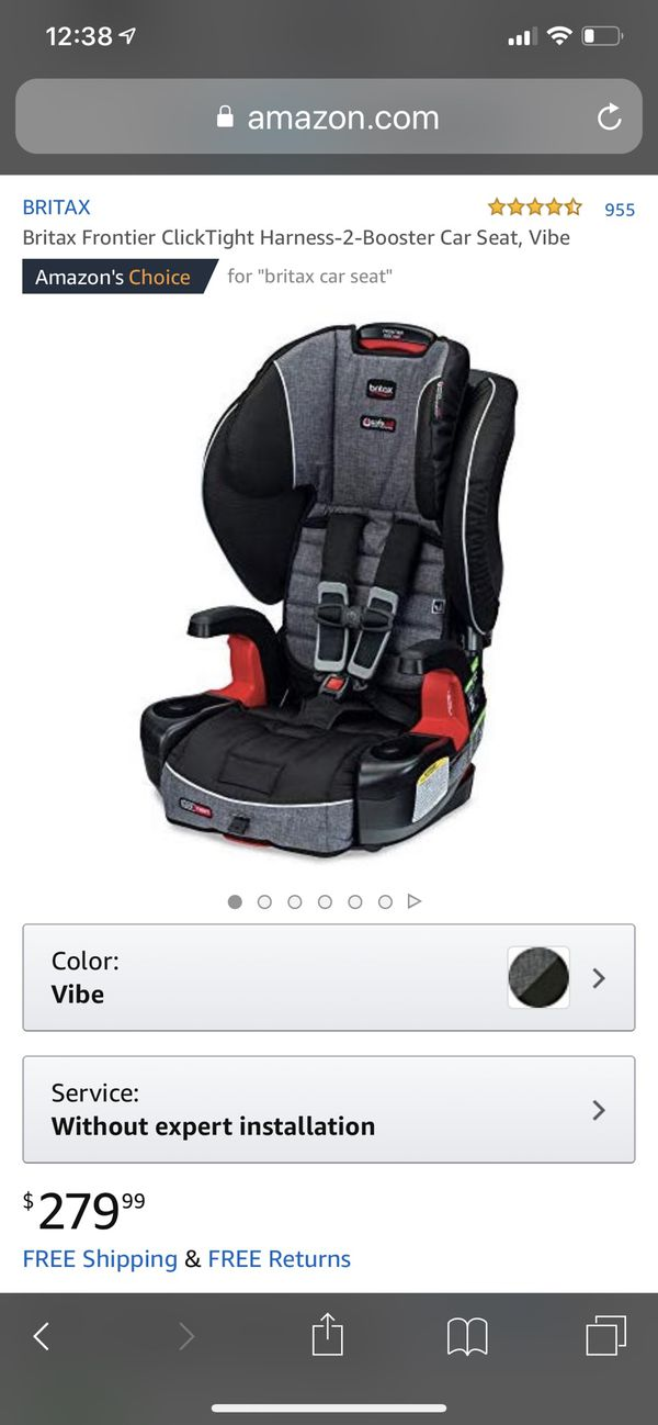 Britax Frontier ClickTight Harness-2-Booster Car Seat