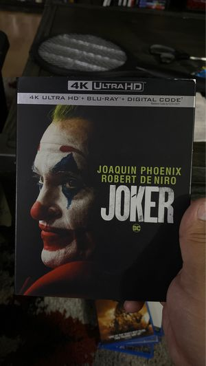 The Joker 4K Blu-ray for Sale in Bellflower, CA