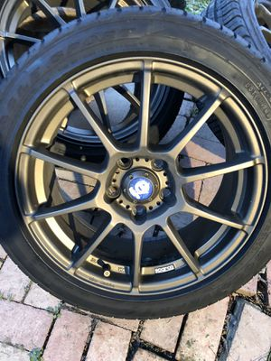 Rim 17 llantas nuevas for Sale in Fort Washington, MD