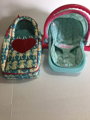American Girl & Battat doll carriers for Sale in Austin, TX