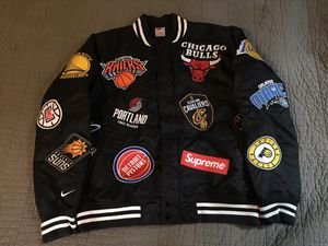 Supreme x NBA jacket Size Medium for Sale in Nether Providence Township, PA