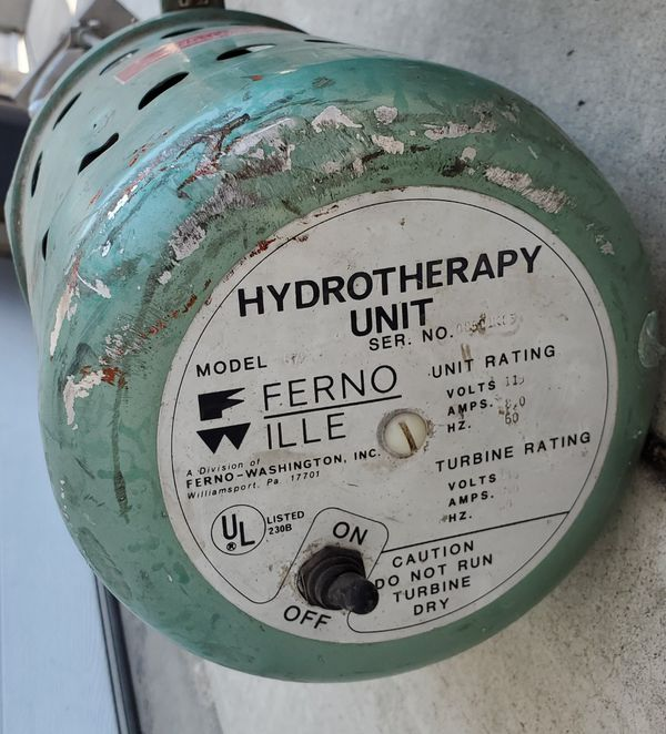 2 Ferno Ille Hydrotherapy Units