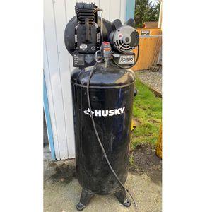 Husky Air Compressor 60 Gal for Sale in Tukwila, WA