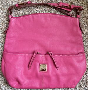 Dooney & Bourke Seville Callie Pink Leather Hobo Bag, Used-Good, $65!!! for Sale in Littleton, CO