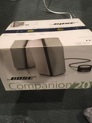 NEW Bose Companion 200 Speaker System for Sale in Wyckoff, NJ
