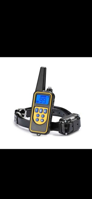 Dog Shock Collar With Remote Electric For Large Small Pet Training 875 Yards for Sale in Missouri City, TX