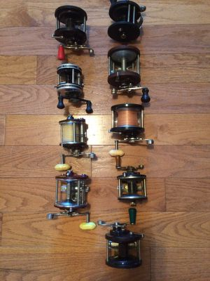 Old fishing reels for Sale in Apex, NC