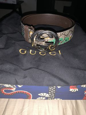 Gucci Tiger Belt for Sale in Bowie, MD