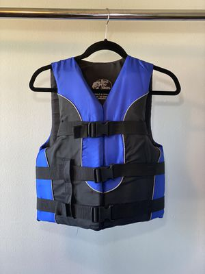 Bass Pro Shop Blue Life Vest—Adult Extra Small for Sale in Naperville, IL