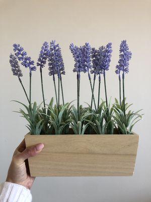 Fake lavender plant decor for Sale in Fairfax, VA